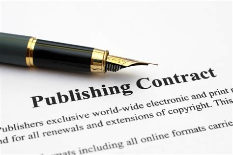 picture book publishing how to negotiate a book publishing contract keller media