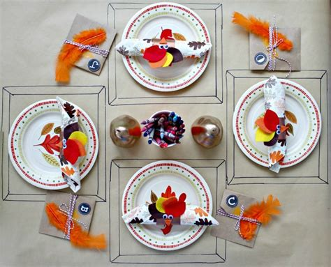 thanksgiving table crafts for day 4 of 50 diy days five thanksgiving table ideas for