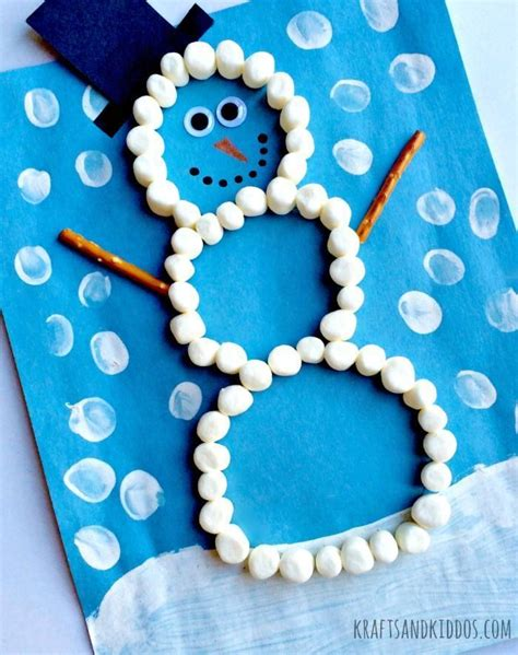 easy crafts for marshmallow snowmen 25 best ideas about marshmallow snowman on