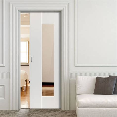 sliding glass pocket doors symmetry axis white single pocket door clear glass