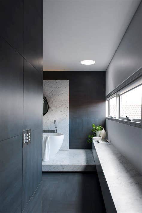 2015 award winning bathroom designs award winning monochromatic bathroom by minosa design