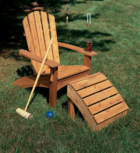 woodworking plans adirondack chairs adirondack chair ottoman table woodsmith plans
