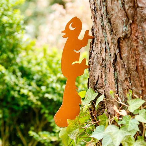 Eichhörnchen Gartendeko baumstecker eichh 246 rnchen kaufen bei g 228 rtner p 246 tschke
