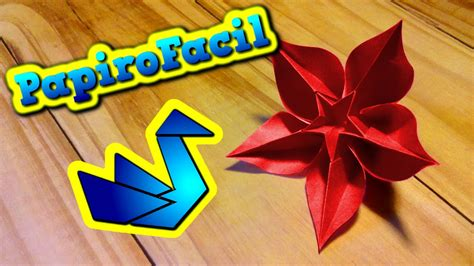 flor origami origami facil como hacer una flor estrella origami