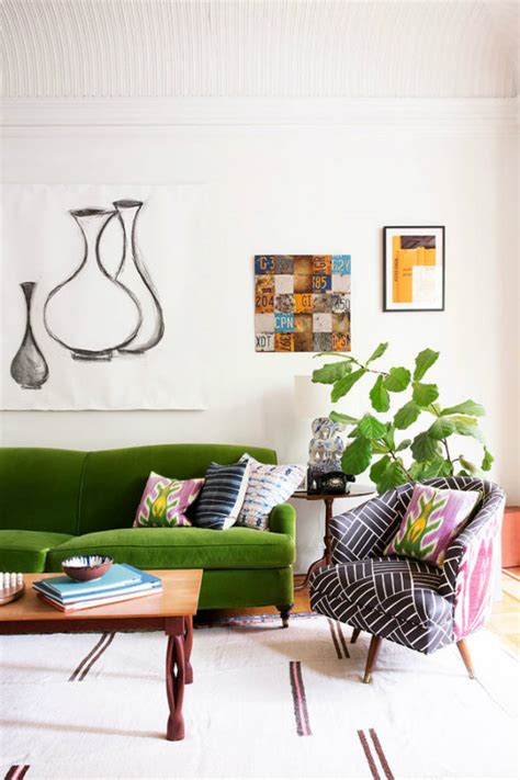 green sofas living rooms emerald green sofa ideas for the living room