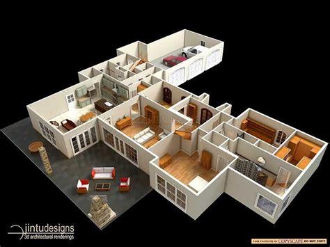 Kitchen Floor Plan Dimensions 3d floor plan quality 3d floor plan renderings