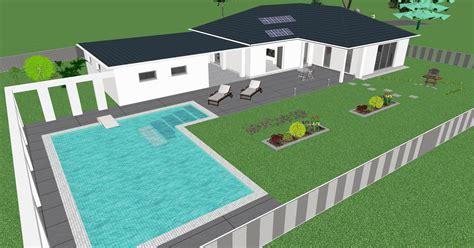 Danwood Haus Forum by 3d Ansicht Bungalow Danwood Mit Pool U Garage