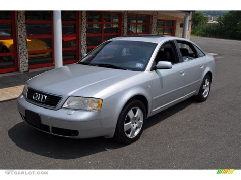 2001 Audi A6 by Light Silver Metallic 2001 Audi A6 2 7t Quattro Sedan