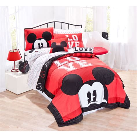mickey mouse bed set disney mickey mouse classic bedding sheet set