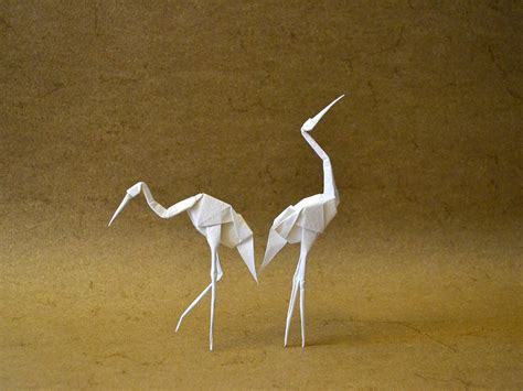 crane bird origami 24 beautiful migratory origami birds for the origamimigration