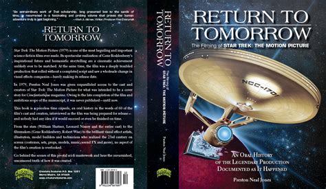the motion picture book look return to tomorrow book on of