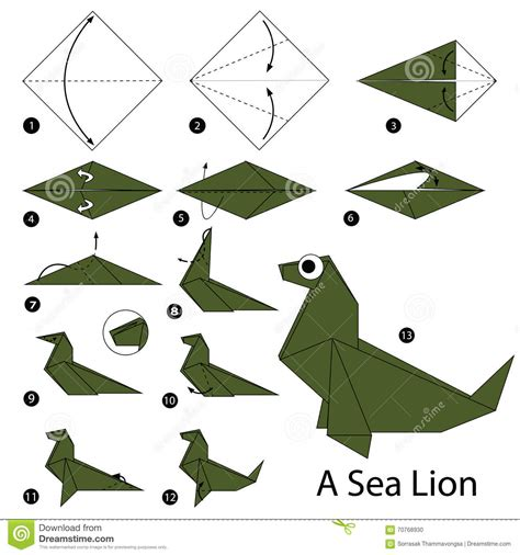 how to make origami sea animals step by step how to make origami a sea