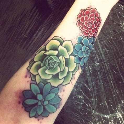 tattoo succulents succulenttattoo inspiration for