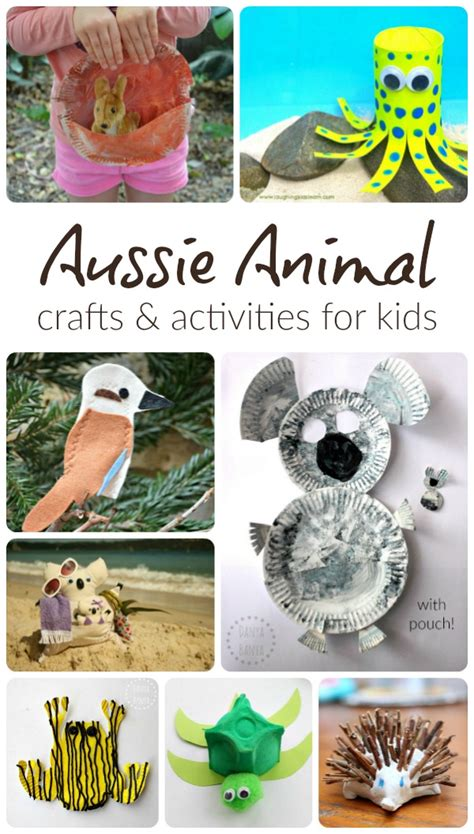 australian crafts for awesome aussie animal crafts danya banya