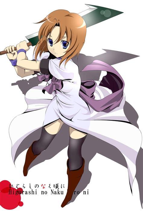 higurashi no naku koro ni order if you could 4 to be in your harem who would
