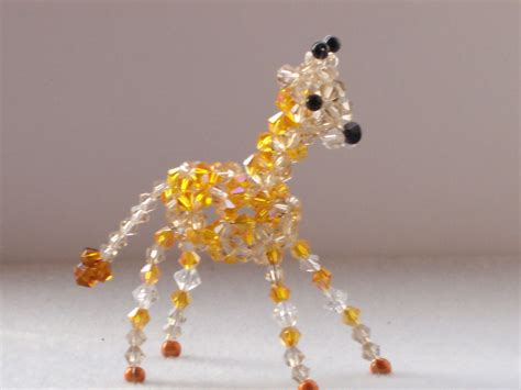 bead animals beaded animals 183 a beaded animal 183 beadwork on cut out