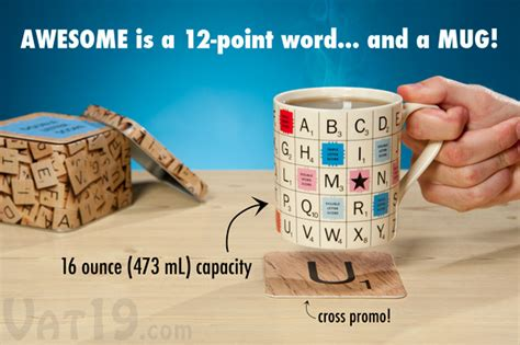 is oz a word in scrabble scrabble 174 tile coffee mug officially licensed mug