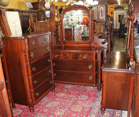 vintage bedroom furniture 1950s beautiful american antique mahogany bedroom set 4 pieces