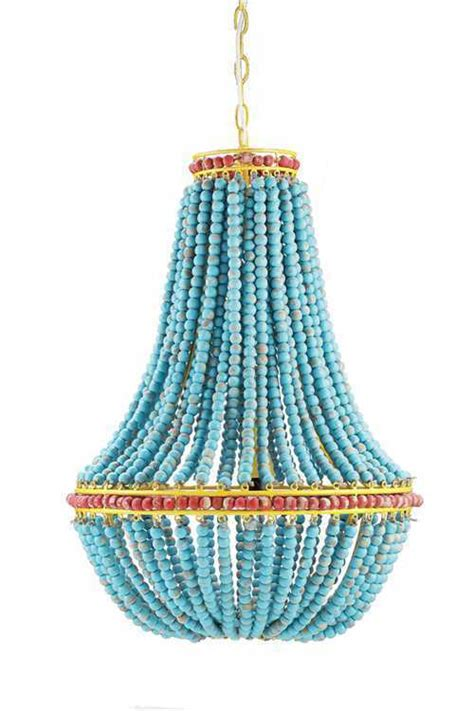 turquoise beaded chandelier turquoise blue wood fancy beaded iron chandelier 26