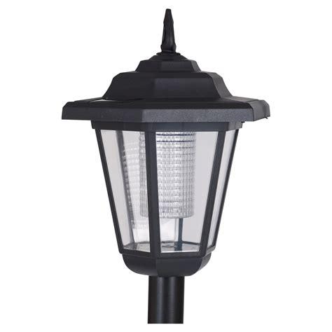 solar powered post lights for outdoors solar powered garden lights lantern l black led pathway