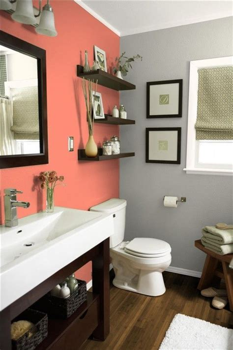 Design Ideas For Bathrooms 30 grey and coral home d 233 cor ideas digsdigs