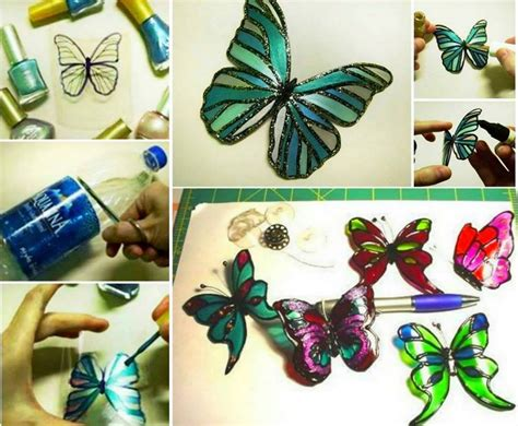 diy projects manualidades colorful diy butterfly crafts projects to make your