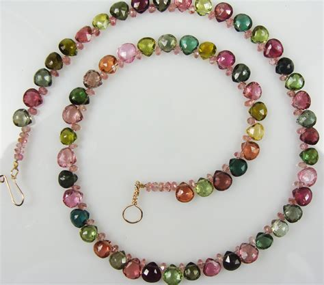 jewelry makings tourmaline bead choker by gail maas