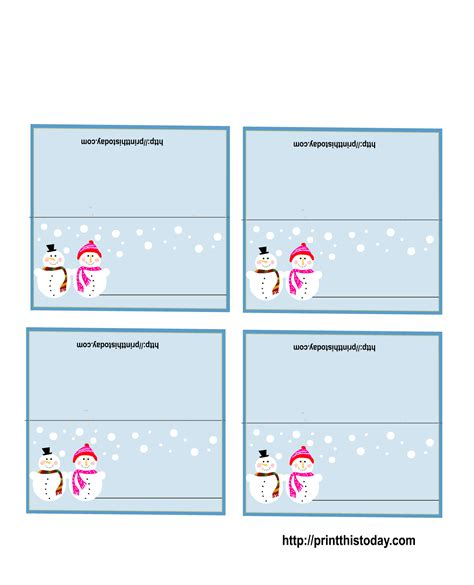 card for free to print free printable place cards