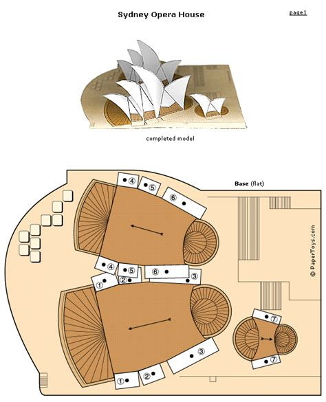 Lincoln Memorial Floor Plan paper toys paper cut out models free at papertoys com