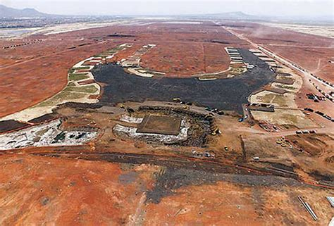 Sinking Mexico City by Soil Is A Challenge In Building Mexico City S New Airport