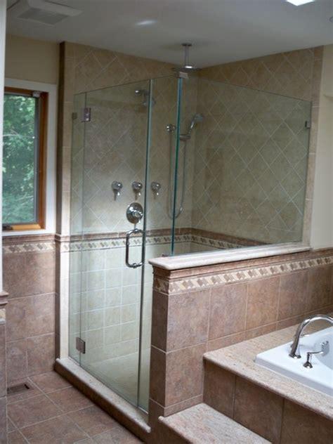 bathroom shower stall custom porcelain shower stall traditional bathroom