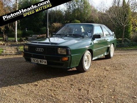 Audi Sport Quattro For Sale by Re Spotted Audi Sport Quattro Page 1 General Gassing