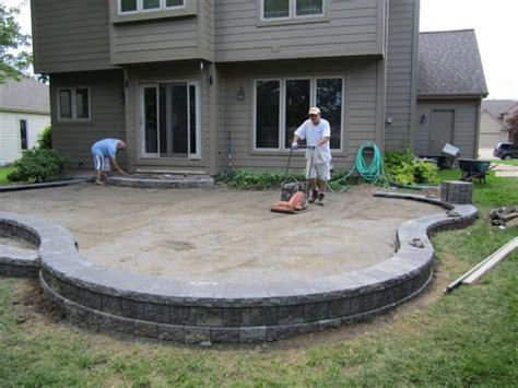 raised paver patio designs 17 best ideas about pavers patio on backyard