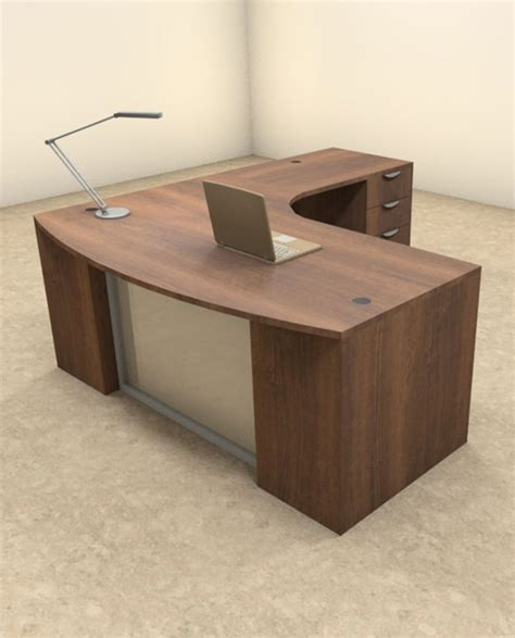 modern l shaped office desk modern l shaped desk 4pc l shape modern contemporary