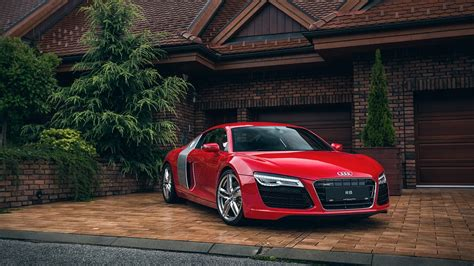 Car Wallpapers Hd 1920x1080 Monitor by Audi R8 Car House Garage Wallpaper 1920x1080