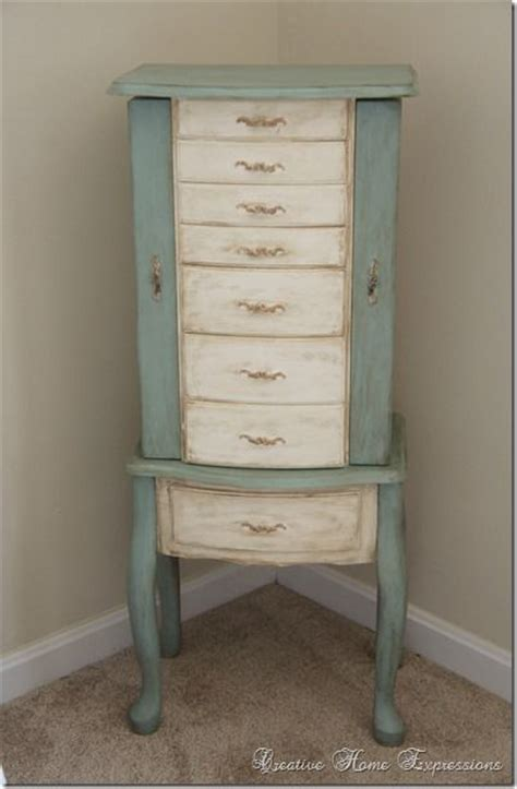 chalk paint jewelry armoire 17 best ideas about jewelry box makeover on