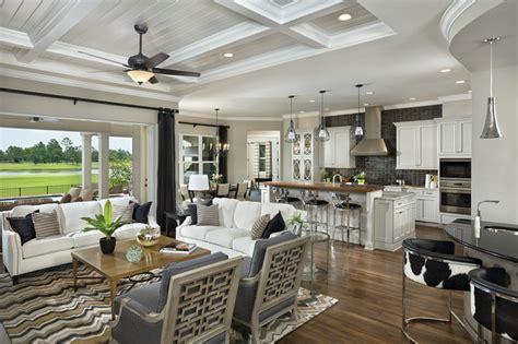 Asheville Model Home Interior Design 1264f   Traditional   Kitchen   Tampa   by Arthur Rutenberg