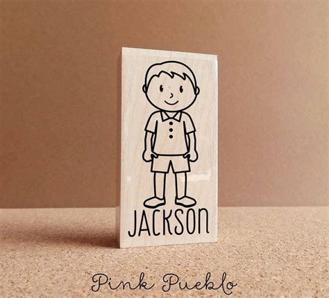 custom name rubber st personalized boy rubber st choose name