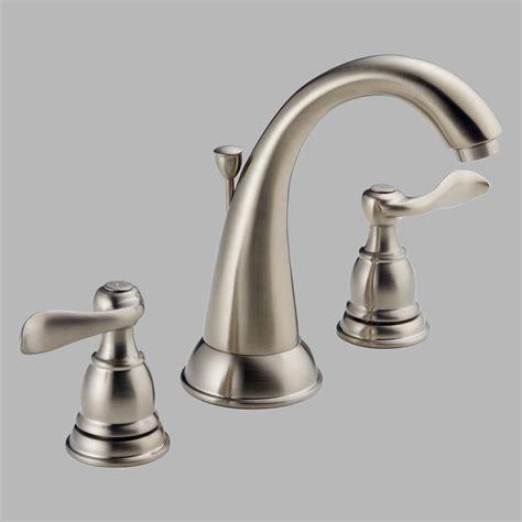 delta faucets kitchen sink delta windemere b3596lf handle widespread bathroom sink faucet ebay