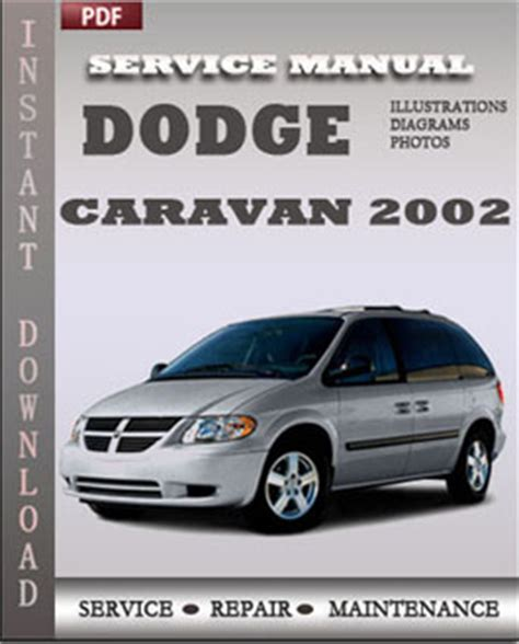 how to download repair manuals 2009 dodge caravan electronic toll collection dodge caravan 2002 service repair servicerepairmanualdownload com