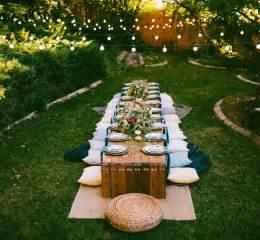 outdoor themed home decor best 25 outdoor dinner ideas on