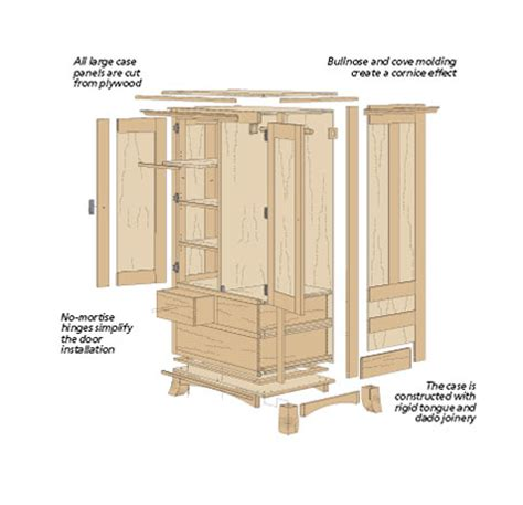 free jewelry armoire woodworking plans plans to build a jewelry armoire studio design