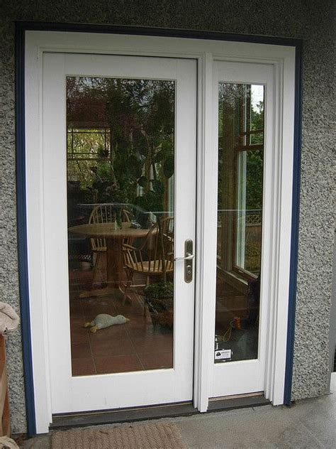 single patio doors 16 best images about single doors with sidelights on