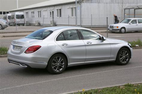 Mercedes C by 2018 Mercedes C Class Facelift Gtspirit