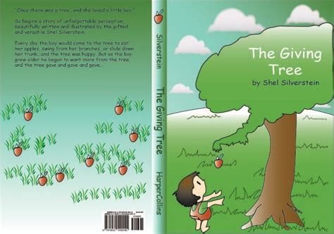 the giving tree book with pictures my book cover the giving tree by suushiboy on deviantart