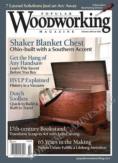 popular woodworking books popular woodworking 206 october 2013 187 hobby magazines