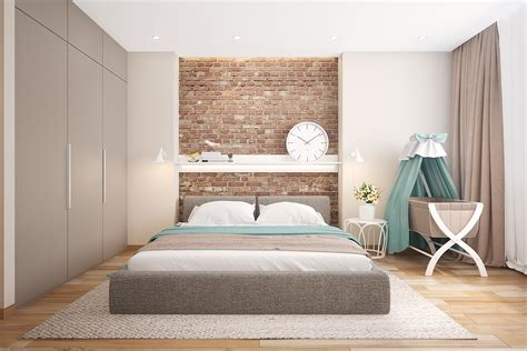 exposed brick bedroom bedrooms with exposed brick walls