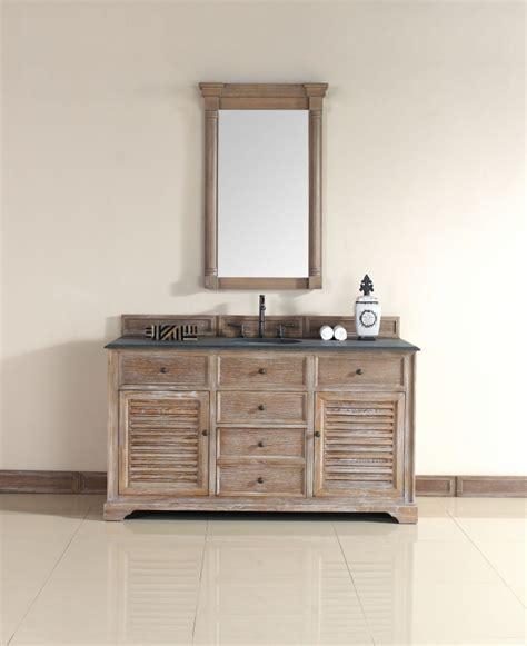 driftwood bathroom vanity 60 inch single sink bathroom vanity in driftwood finish