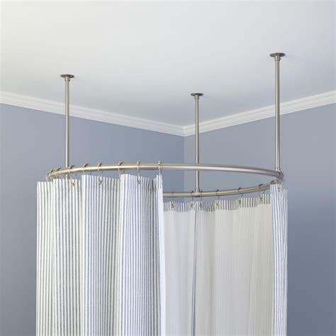 bathroom shower curtain rods circular shower curtain rod for outdoors shower curtains