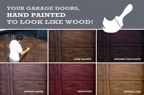 paint colors that look like wood painting wood garage doors to look like quotes